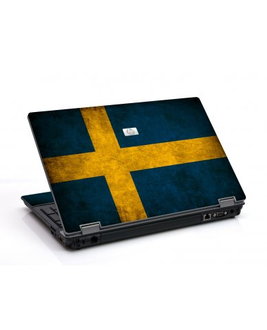 Swedish Flag 6550B Laptop Skin
