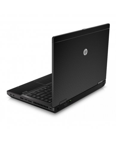 Black Carbon Fiber 6560B Laptop Skin