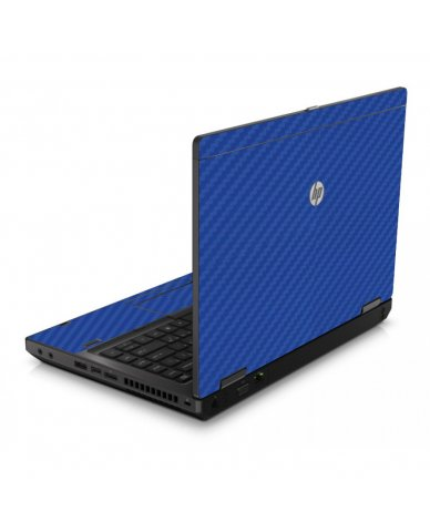 Blue Carbon Fiber 6560B Laptop Skin