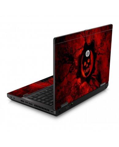 Dark Skull 6560B Laptop Skin