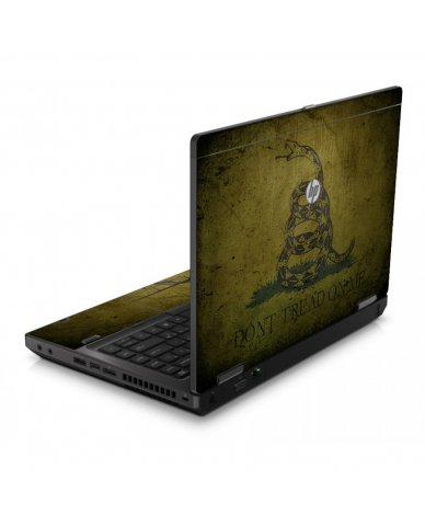 Green Don't Tread Flag 6560B Laptop Skin