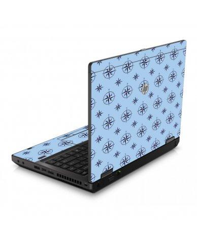 Nautical Blue 6560B Laptop Skin