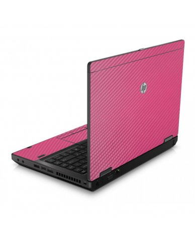 Pink Carbon Fiber 6560B Laptop Skin