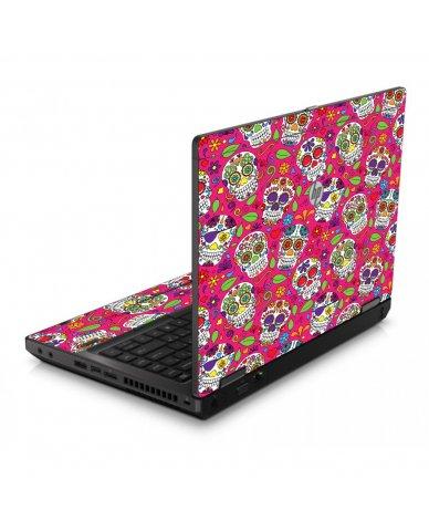 Pink Sugar Skulls 6560B Laptop Skin