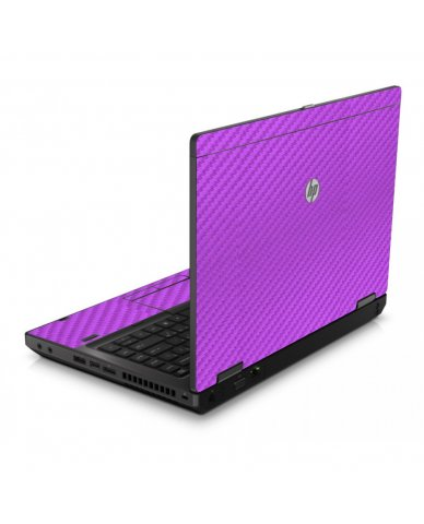 Purple Carbon Fiber 6560B Laptop Skin