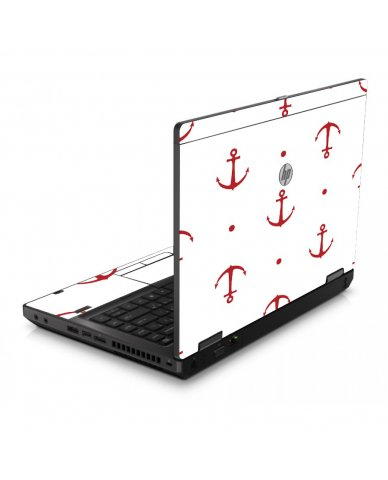 Red Anchors 6560B Laptop Skin
