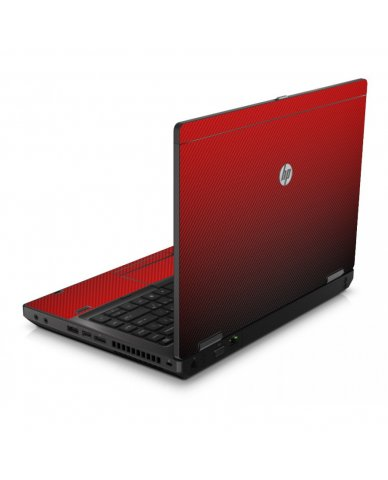 Red Carbon Fiber 6560B Laptop Skin