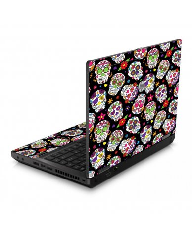 Sugar Skulls 6560B Laptop Skin