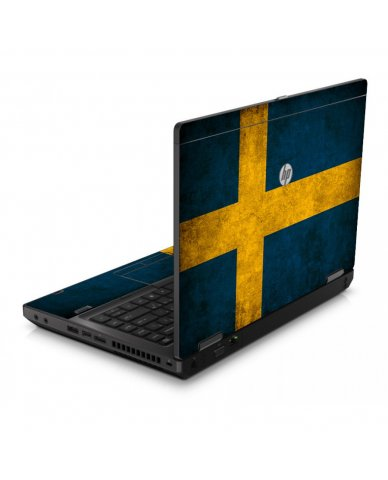 Swedish Flag 6560B Laptop Skin