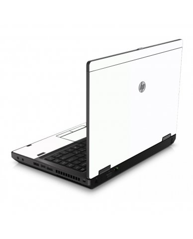 White 6560B Laptop Skin