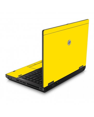 Yellow 6560B Laptop Skin