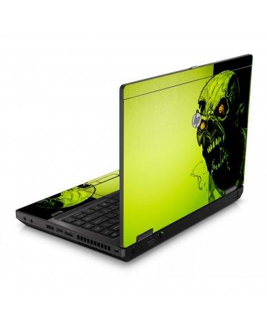 Zombie Face 6560B Laptop Skin