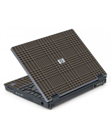 Beige Plaid 6710B Laptop Skin
