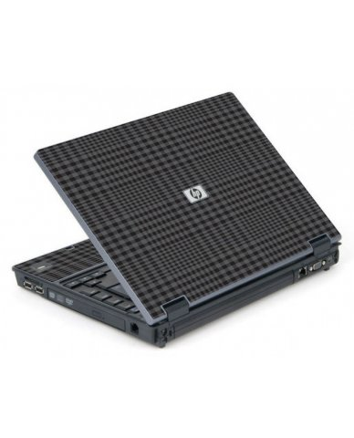 Black Plaid 6710B Laptop Skin