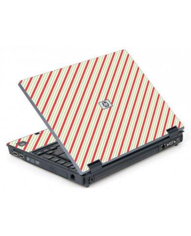 Circus Stripes 6710B Laptop Skin