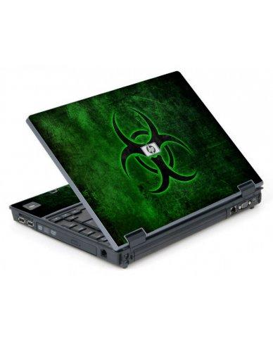 Green Biohazard 6710B Laptop Skin