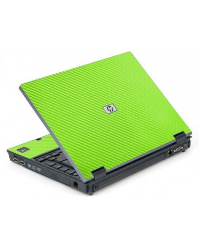 Green Carbon Fiber 6710B Laptop Skin