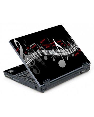 Music Notes 6710B Laptop Skin