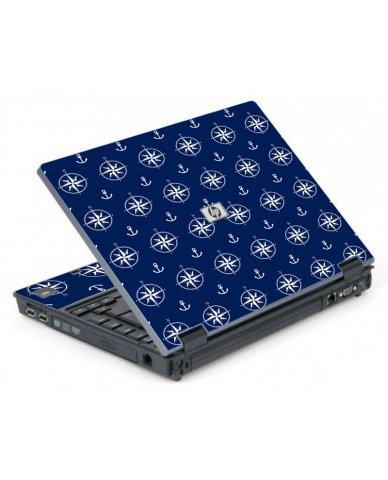 Nautical Anchors 6710B Laptop Skin