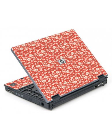 Pink Roses 6710B Laptop Skin
