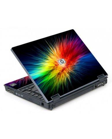 Rainbow Burst 6710B Laptop Skin