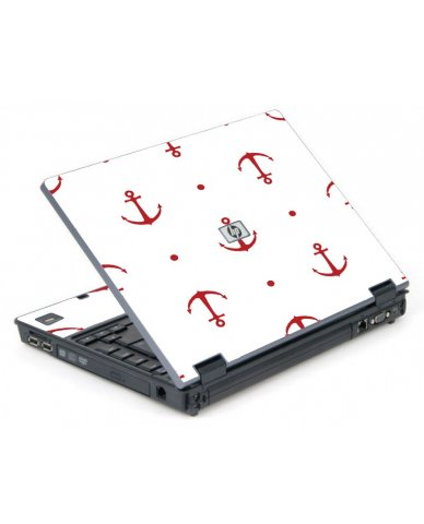 Red Anchors 6710B Laptop Skin