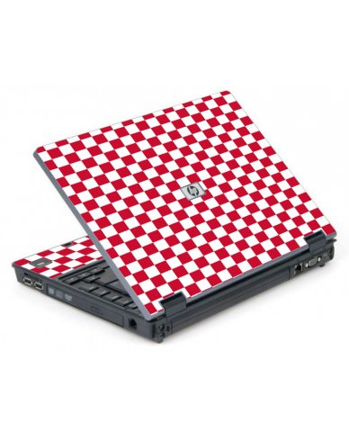 Red Checkered 6710B Laptop Skin