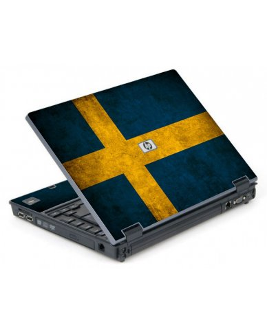 Swedish Flag 6710B Laptop Skin