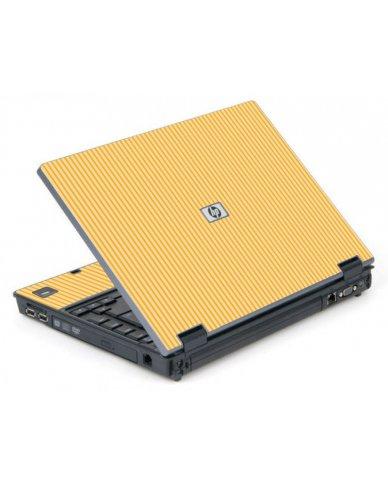 Warm Stripes 6710B Laptop Skin