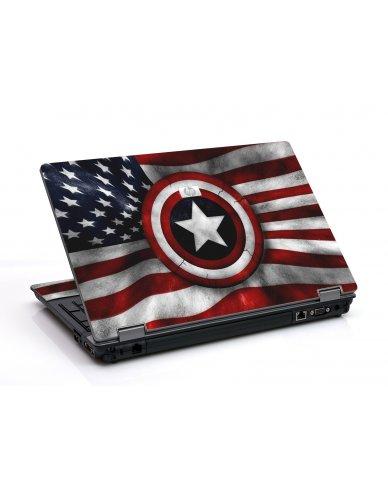 Captain America Flag 6730B Laptop Skin