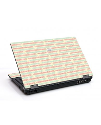 Crazy Circus Stripes 6730B Laptop Skin