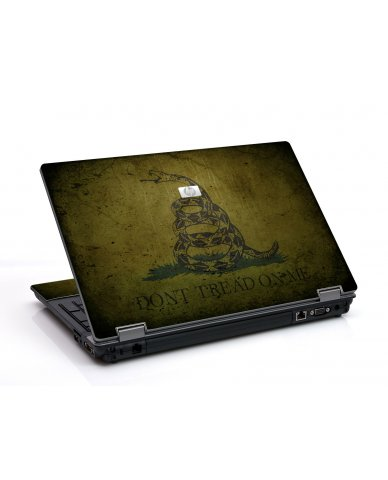 Green Dont Tread On Me 6730B Laptop Skin