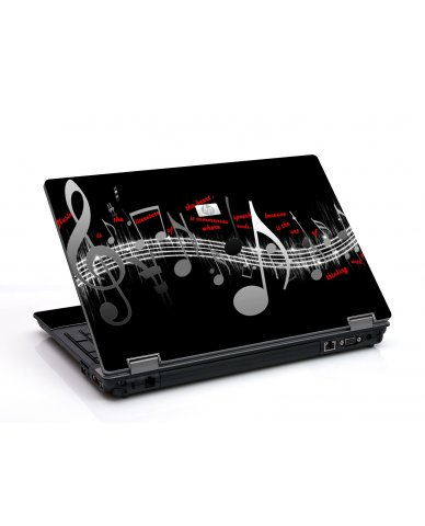 Music Notes 6730B Laptop Skin