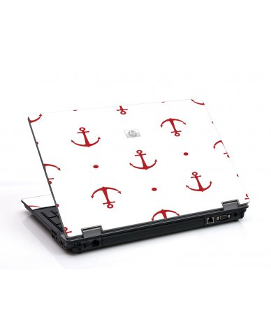Red Anchors 6730B Laptop Skin
