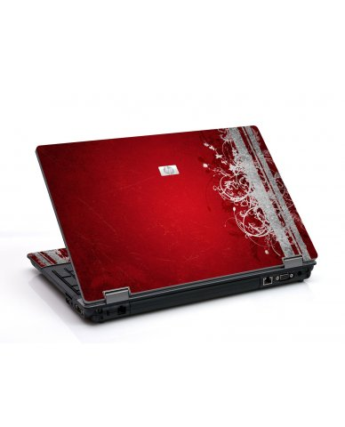 Red Grunge 6730B Laptop Skin