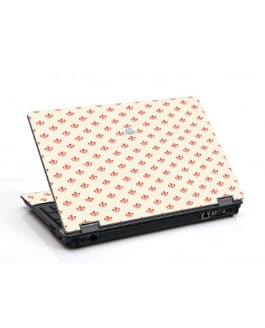 White And Pink Versailles 6730B Laptop Skin