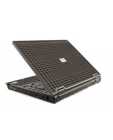 Beige Plaid 6930P Laptop Skin