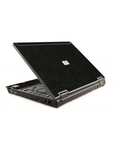 Black Leather 6930P Laptop Skin