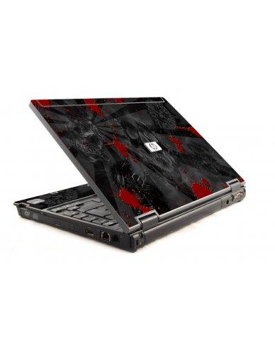 Black Skulls Red 6930P Laptop Skin