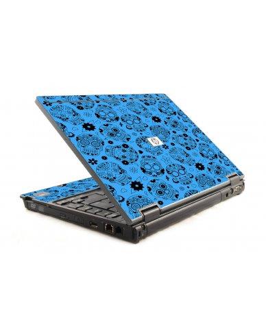 Crazy Blue Sugar Skulls 6930P Laptop Skin