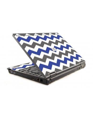 Grey Blue Chevron 6930P Laptop Skin
