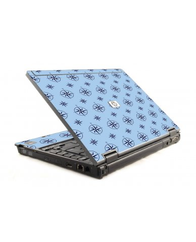 Nautical Blue 6930P Laptop Skin