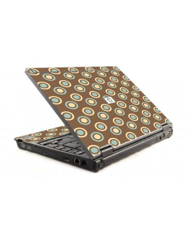 Retro Polka Dot 6930P Laptop Skin