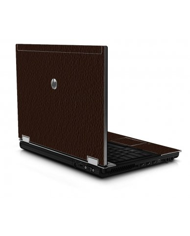 Brown Leather 8440P Laptop Skin