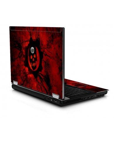 Dark Skull 8440P Laptop Skin