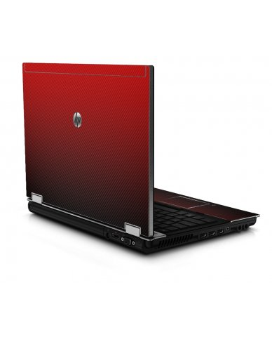 Red Carbon Fiber 8440P Laptop Skin