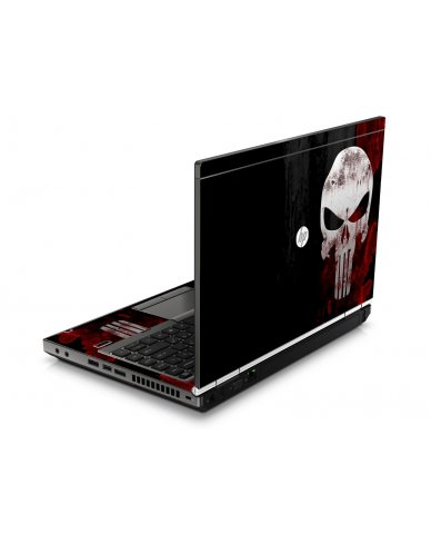 Punisher Skull HP8460P Laptop Skin