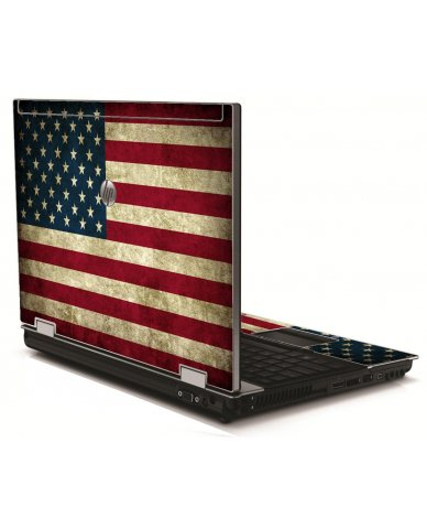 American Flag HP 8540W Laptop Skin