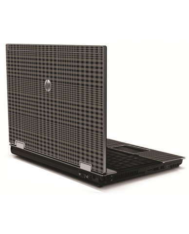 Beige Plaid HP 8540W Laptop Skin