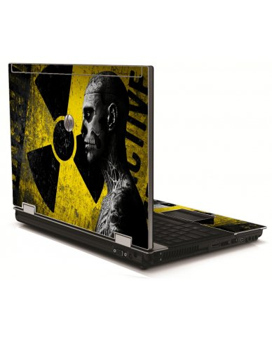 Biohazard Zombie HP 8540W Laptop Skin
